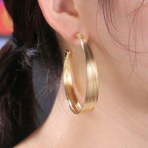 NEW 18k gold plated Hoop Earrings